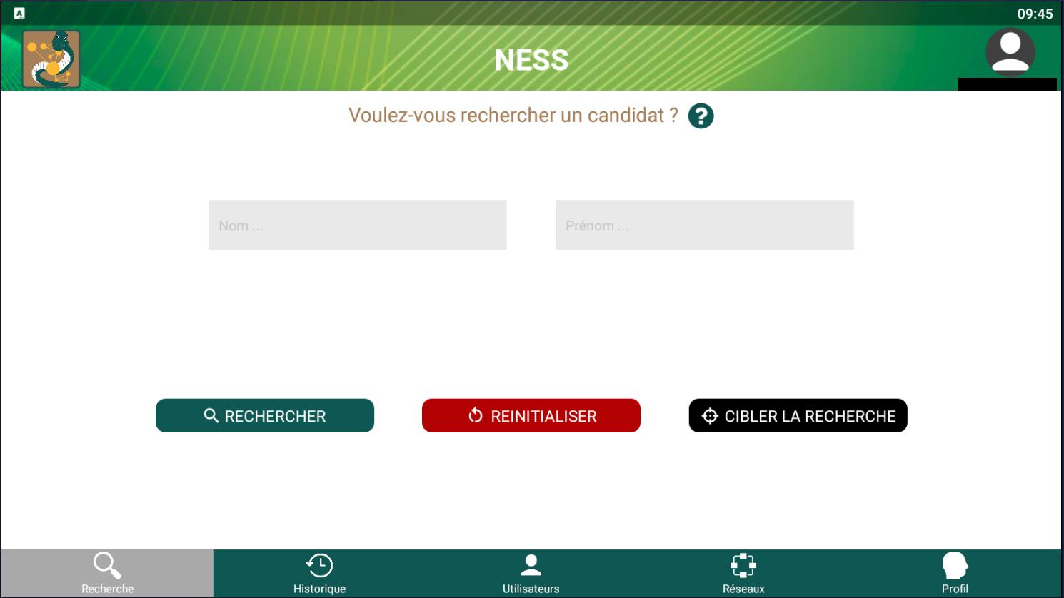 V'NESS : application qui a pour but de scanner le réseau des réseaux afin de pouvoir déterminer l'e-réputation d'une personne physique ou morale